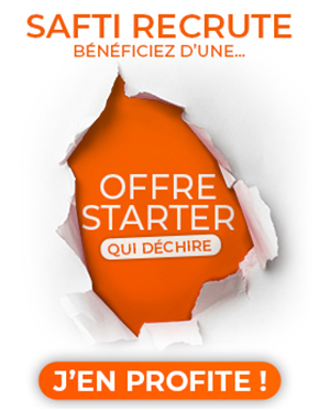 Offre starter Exceptionnelle SAFTI